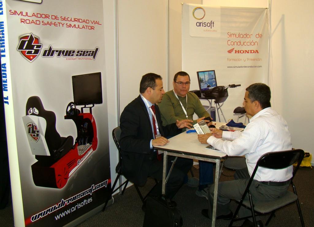 Simulador de conducción - CONGRESO COLOMBIA