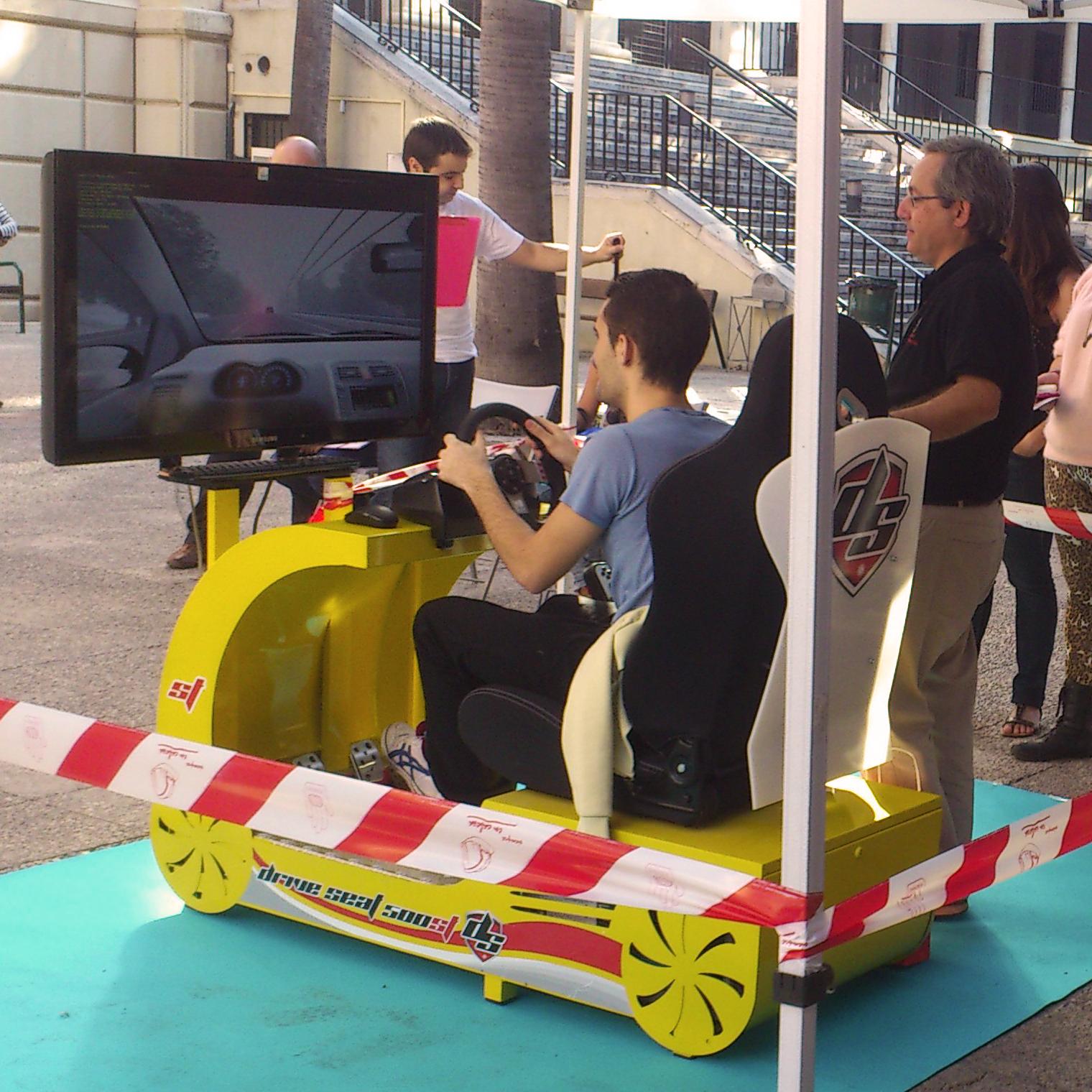 Simulador de turismo - DRIVE SEAT 500ST