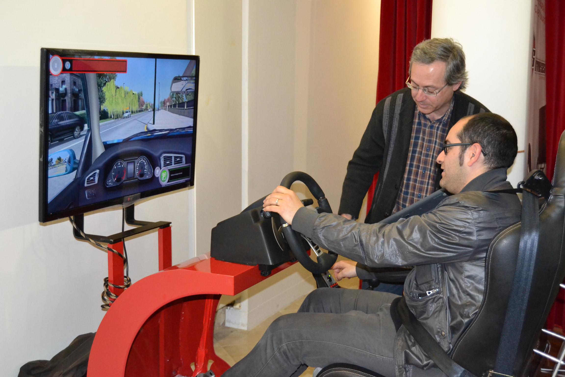 Simulador de conducción: DRIVESIM Y DRIVE SEAT 500ST